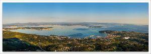 Ría de Arousa, Comprar fotografía  de Galicia Ría de Arousa Miradoiro dá  Curota Decoración Natureza Paisaxe