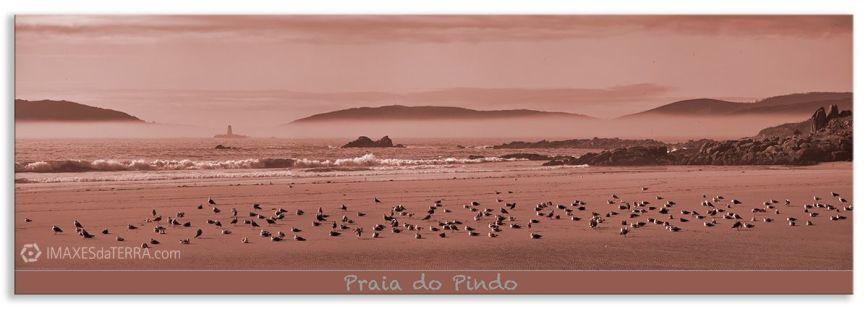 Praia  do Pindo, Comprar fotografía  de Galicia Praia de Ou Pindo Decoración Natureza Paisaxe
