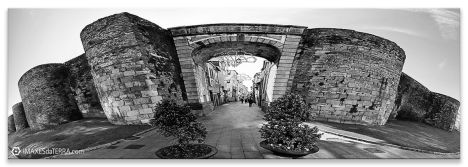 Muralla de Lugo, Comprar fotografía de Galicia Muralla de Lugo Decoración Panorámica