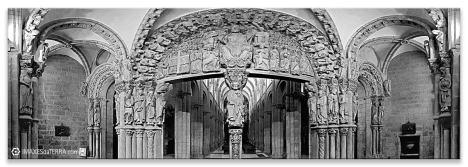 Pórtico da Gloria, Comprar fotografía de Galicia Santiago de Compostela Catedral Peregrinos Pórtico da Gloria Camiño de Santiago Decoración