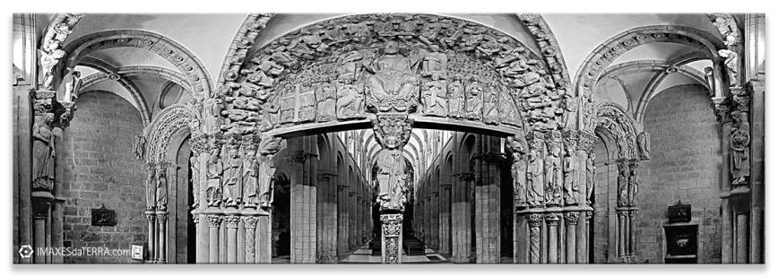 Pórtico de la Gloria, Comprar fotografía de Galicia Santiago de Compostela Catedral Peregrinos Pórtico de la Gloria Camino de Santiago Decoración