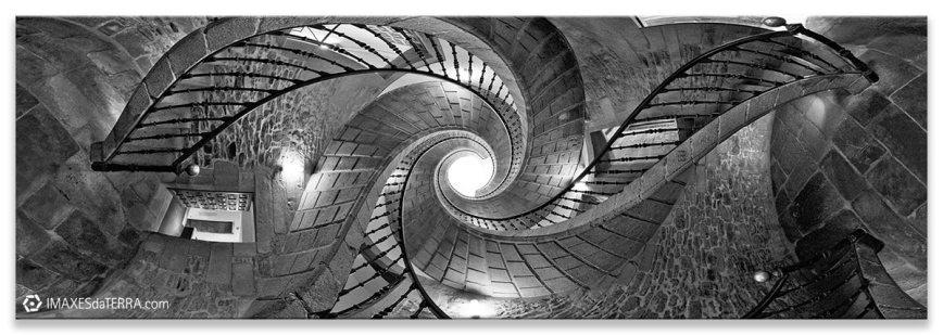 Escaleira do Pobo Galego Comprar fotografía de Galicia Santiago de Compostela Museo do Poco Galego Monasterio de San Domingo do Bonaval Decoración