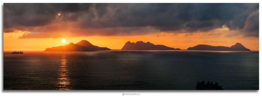 Islas Cies, Comprar fotografía  de Galicia