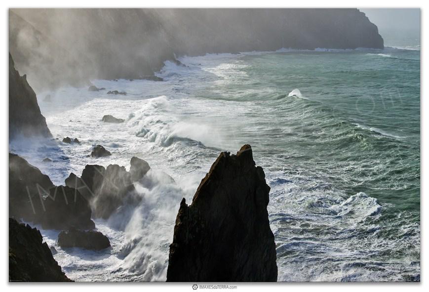 Acantilados Cabo Ortegal, Comprar fotografía de Galicia Acantilados Cabo Ortegal Atlántico Vixía Herbeira Decoración naturaleza