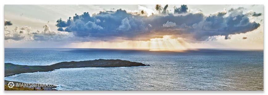 Puesta de Sol Cabo Touriñan, Comprar fotografía paisajes de Galicia Cabo Touriñan Puesta de Sol Muxía Decoración