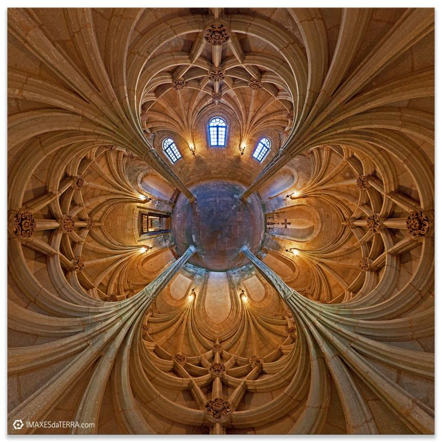 Palmeras Pétreas Universo, Monasterio de Oseira , Comprar fotografía de Galicia Monasterio de Sata María de Oseira Decoración