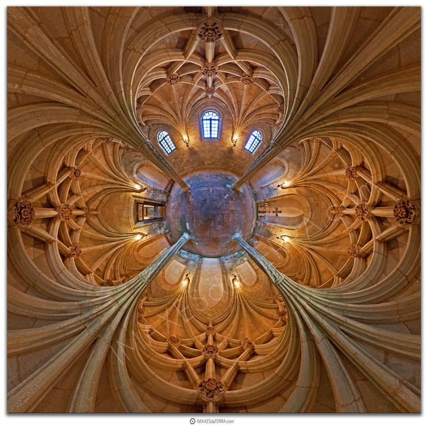 Palmeras Pétreas Universo, Monasterio de Oseira , Comprar fotografía de Galicia Monasterio de Sata María de Oseira