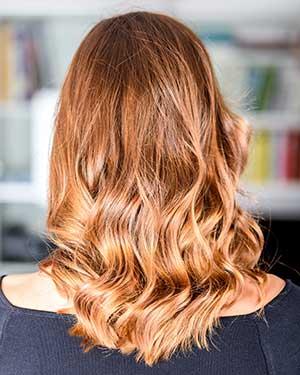 Balayage women style thornhill hair salon
