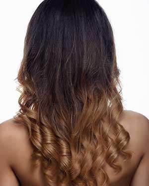 Ombre women style hair salon