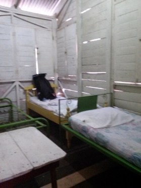 This is what a $3 a night room in Nicaragua looks like