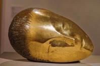 Sleeping head, Brancusi