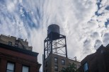 Wedesday - Water Tower and Clouds