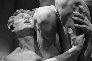 Saturday night - Detail -Ugolino and his Sons