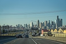 Seattle from Hwy 99
