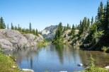 Rampart Lakes and Alta Mountain