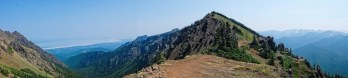 start of the Klahhane Ridge trail