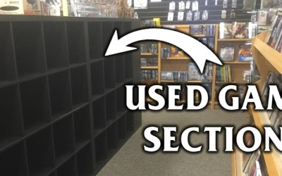 Announcing the Used Games Section at I'm Board!