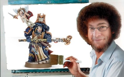 Introducing Happy Little Treants – Scott's Painting Corner on our Web Site!