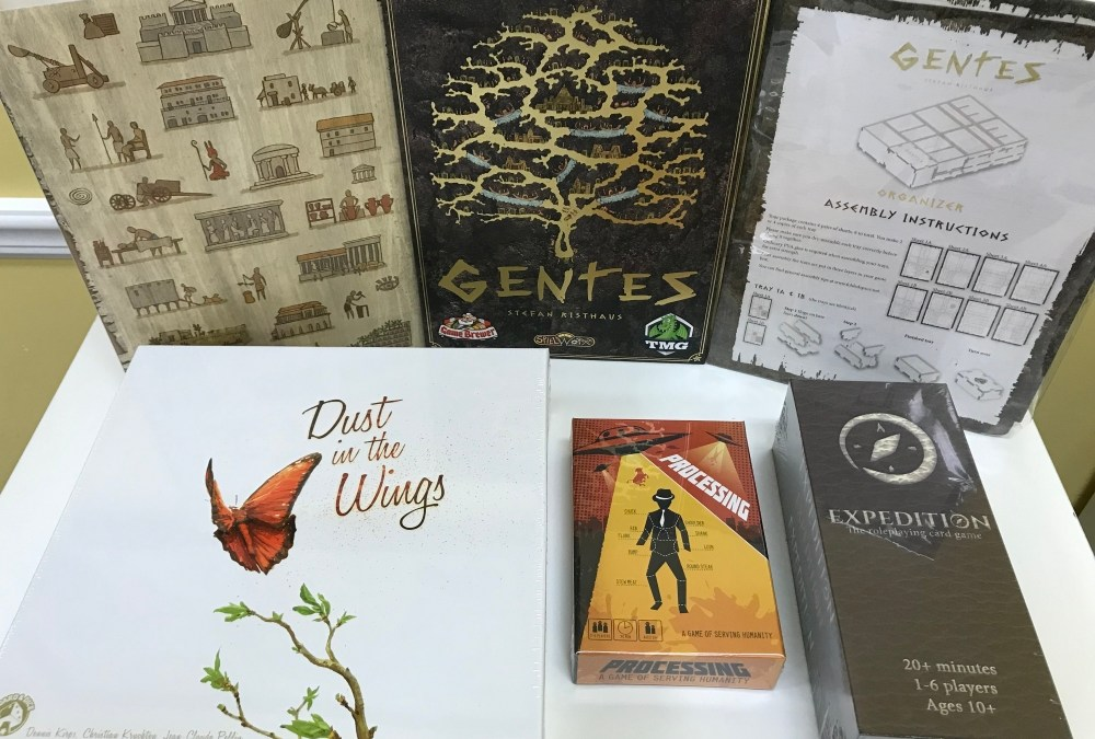 New for Friday! Butterflies, Aliens, and a Gentes Deluxified restock!