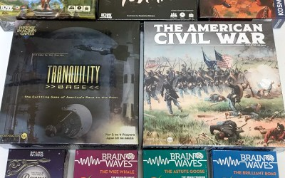 Wednesday Brings a Heap of New Games and Minis!