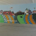 WBU Students Complete Work on Art Mural
