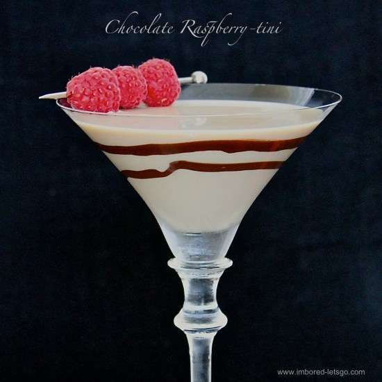 Chocolate Raspberry-tini