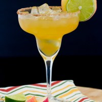 Apple Margarita - a great fall variation of the standard margarita