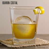 A Bourbon cocktail with Grand Marnier, Honey & Lemon