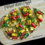 Paneer Naan Pizza