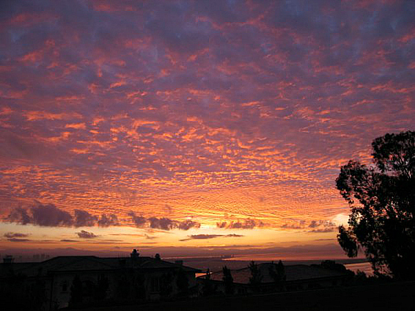 Morning sunrise in San Diego