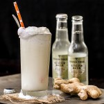 Ginger Beer Float with Vanilla Bourbon Ice Cream