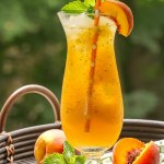 Ginger Peach Cooler