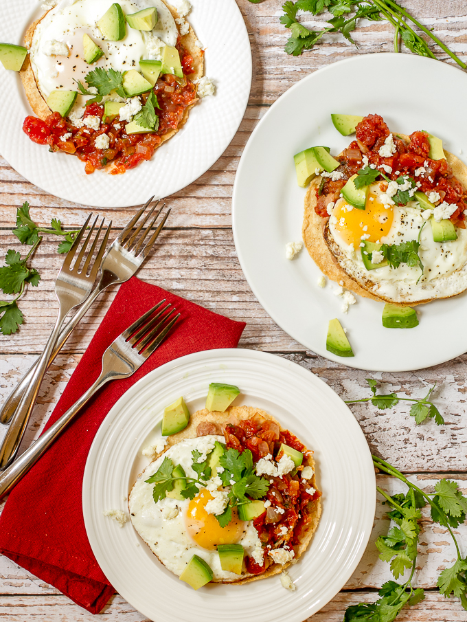 Huevos Rancheros - Mexican ranch style eggs