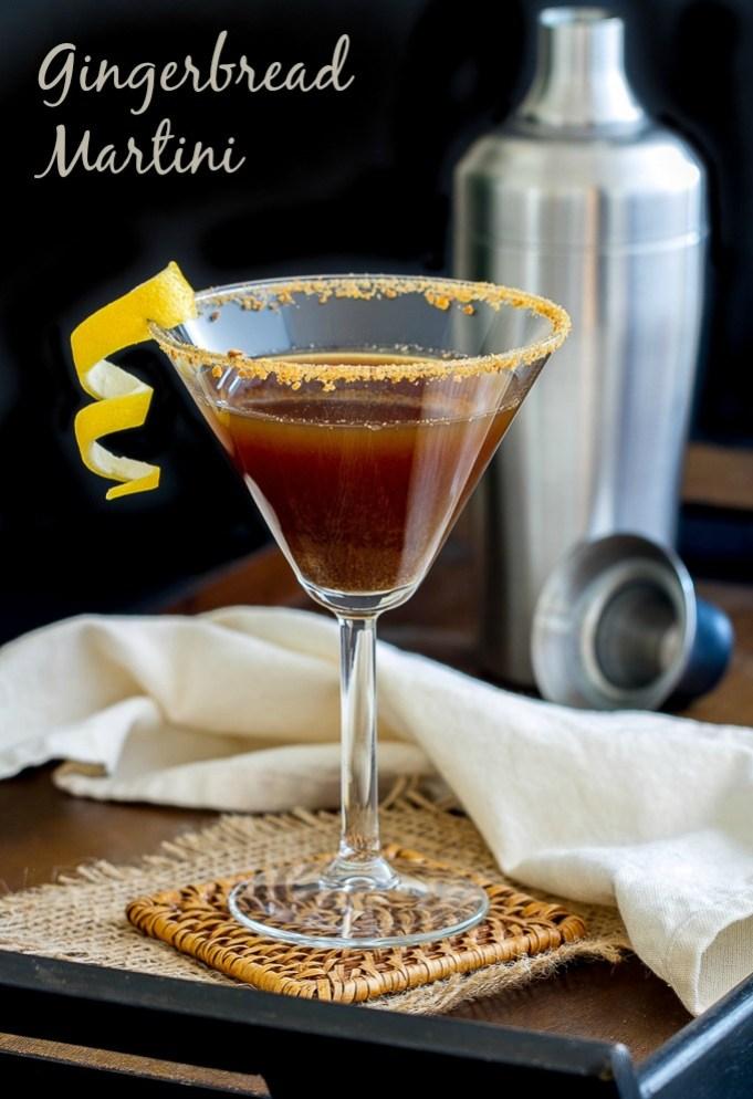 Gingerbread Martini