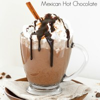 Spiked Mexican Hot Chocolate