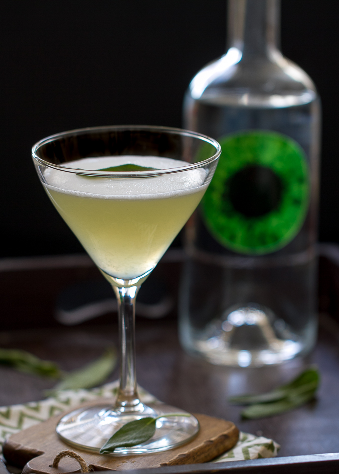 Gin Sage Martini made with Azzure Gin