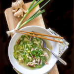 Egg Drop Soup with Zoodles