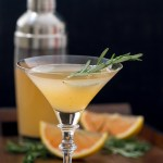 Spicy Rosemary Grapefruit Martini