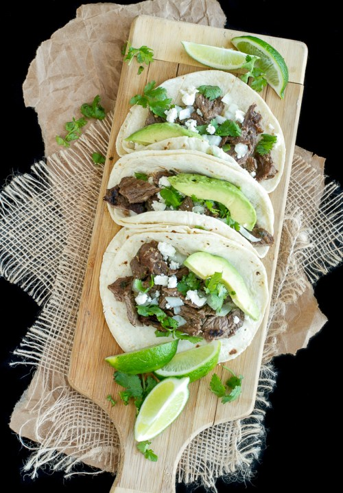 No. 3 of the 10 Most Popular Recipes of 2015 are these Carne Asada Street Tacos