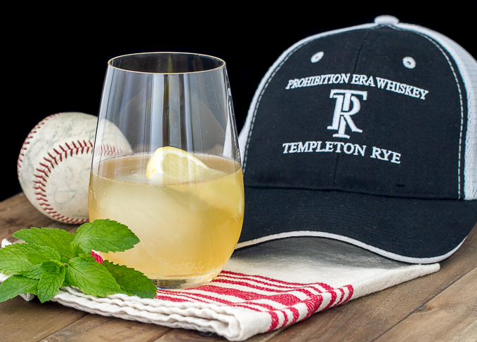 Templeton Rye Mule with Lemon and Mint