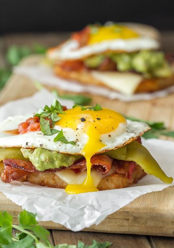 Southwestern Breakfast Stack