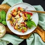 Tuscan Panzanella Salad