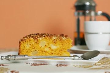 姜汁白胡桃苹果蛋糕