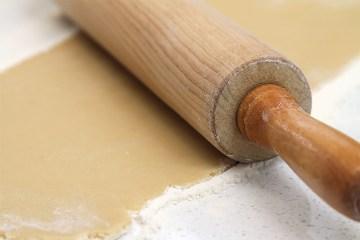 做甜馅饼皮的油酥面团
