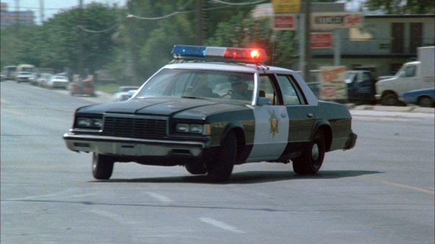 Vehicle 1980 Police