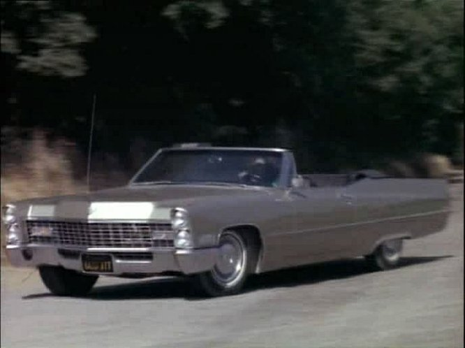 1967 Cadillac DeVille Convertible 68367F In