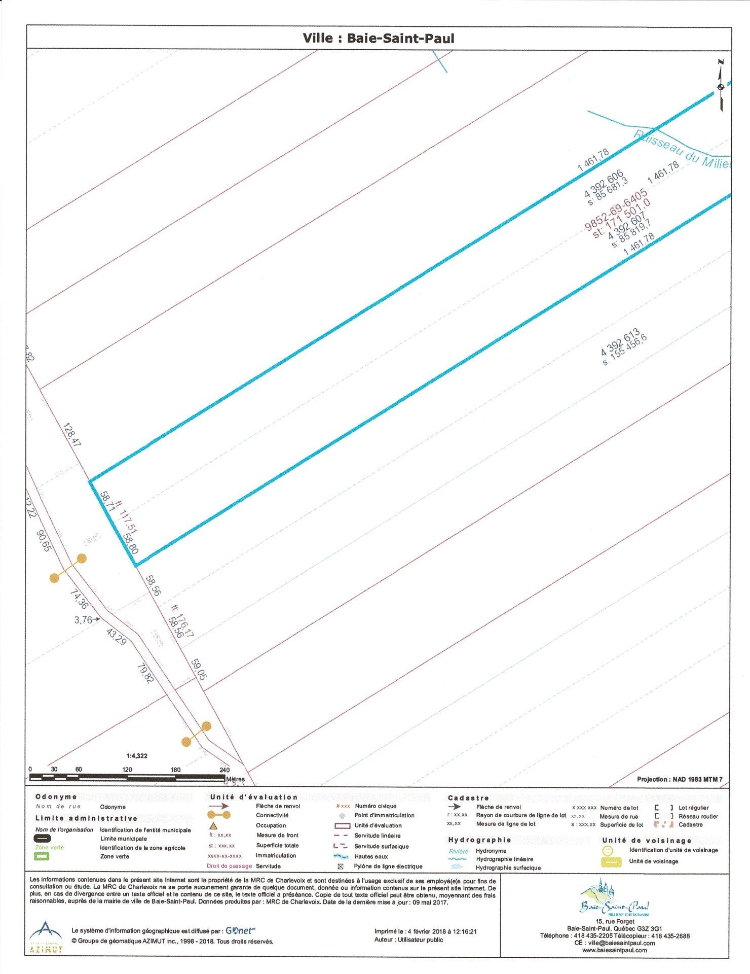 Terrain Et Terre A Vendre A Baie Saint Paul Charlevoix