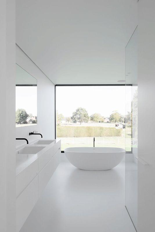un tono claro para baño