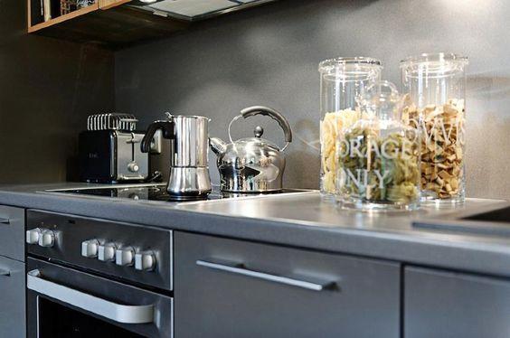 Cocinas sin azulejos