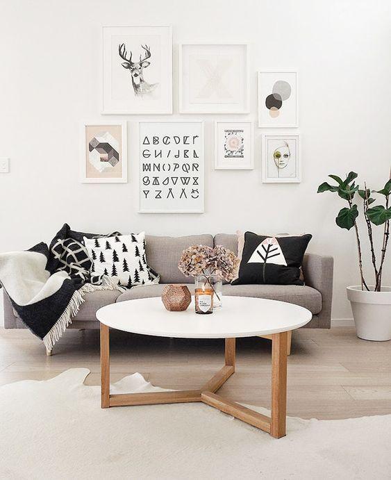 Decoración de tu hogar con estilo Nórdico - salón